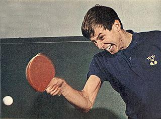 Kjell Johansson (table tennis) Swedish table tennis player