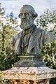 Klagenfurt Viktring Stein Friedhof Bueste des Max Ritter von Moro 03102016 4516.jpg
