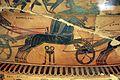 Kleitias, decorazione del vaso françois, 570 ac ca., festeggiamenti per le nozze di peleo e teti, 02.jpg