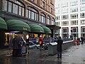 Knightsbridge station Harrod's entrance.JPG