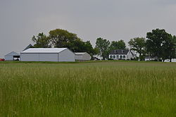 The Knobeloch-Seibert Farm west of Mascoutah