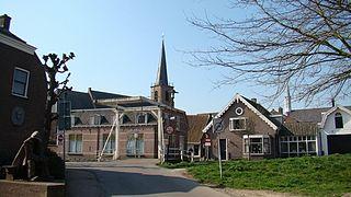 Kockengen Village in Utrecht, Netherlands