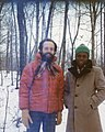 Kofi Wampah and Wes Darou at McGill c 1983.jpg
