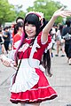 Kokorolia Maid Café promotional maids at CWT49 20180812a.jpg