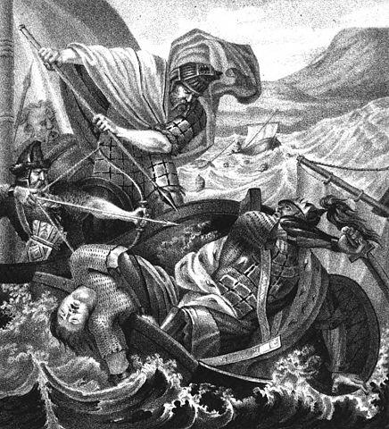 Кончина Святослава. Чориков Б. А. Живописный Карамзин, или Русская история в картинках. — 1836.