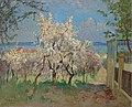 Konstantin Gorbatov - Trees in Bloom.jpg