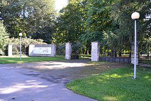 Kopli cemetery - Entrance to cemetery park