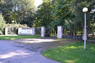 Kopli cemetery park in Tallinn City, Estonia
