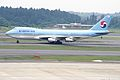 Korean Air Boeing 747-2B5B (HL7443-21772-363) (25975839521).jpg