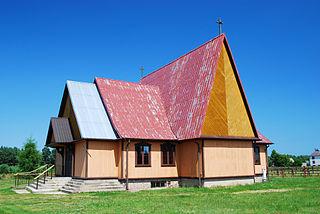 Płaska Village in Podlaskie, Poland