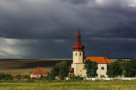 Church of Saint Vitus, Libědice, Czech Republic.