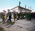 Krátký, F. - Moskva - Korunovační lidová slavnost, 30.05.1896 - Pivní boudy na Chodynském poli.jpg