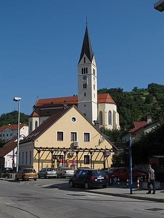 Krapina - Image: Krapina Innenstadt