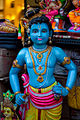 Krishna, The Beautiful Blue God - Navarathri Golu Dolls (15278867139).jpg