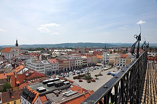 Kroměříž Town in Zlín, Czech Republic