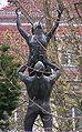 Kronprinzenpalais Berlin backyard statue.jpg