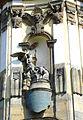 Krzeszów, kościół pw. Wniebowzięcia NMP, fasada, Zwiastowanie.JPG