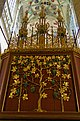 Kutná Hora - Sv.Barbora - Tree of Life on Backside Main Choiraltar 1905.jpg