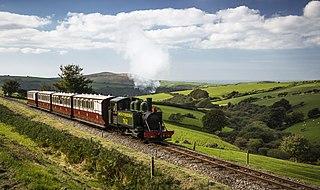 Narrow gauge railway in Devon, England