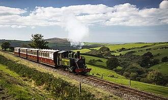 Lynton and Barnstaple Railway - Lyn at Woody Bay in 2017