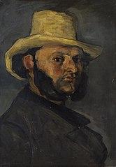 L'Homme au chapeau de paille (Gustave Boyer in a Straw Hat)