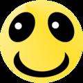 Lächelnder Smiley in gelb.png