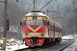 Rīgas Vagonbūves Rūpnīca - DR1A-283M near Paneriai, Lithuania