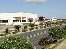 Montagne Center en Provost Umphrey Stadium