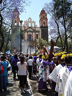 <i>Passion Play of Iztapalapa</i> Annual tribute of the Passion of Jesus Christ in Iztapalapa, Mexico City