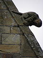 La Guerche-de-Bretagne (35) Basilique Collatéral sud Détail sculpté 09.JPG