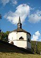 La chapelle sise Kiirchewee à Fond de Heiderscheid Grand-Duché de Luxembourg.JPG