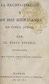 La reconciliación, o, Los dos hermanos - en cinco actos (IA lareconciliacino00kotz).pdf