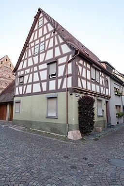 Mühlgasse in Ladenburg