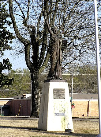 Scouting in Oklahoma - Lady Liberty of Tahlequah, part of Strengthen the Arm of Liberty