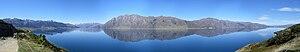 Lake Hāwea - Image: Lake Hawea panorama