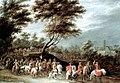 Lambert de Hondt the Younger - Der feierliche Einzug eines Fürsten III - Oil on canvas.jpg