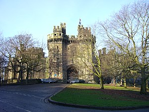 Samlesbury witches - Image: Lancaster Castle