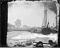 Landing at White House, Pamunkey River, 1864. (3995307001).jpg