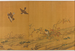 Landscape with Birds, Berries, Roses and Rabbits