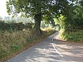 Lane to Old Colehurst Manor - geograph.org.uk - 581807.jpg