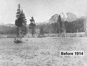 Lassen Peak - Lassen Peak Before 1914