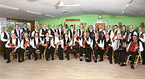Danish traditional music - Rebild Spillemandslaug, a guild of traditional musicians founded by Evald Thomsen.