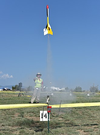 National Association of Rocketry - Launch of a Farside-X at NARAM 60.