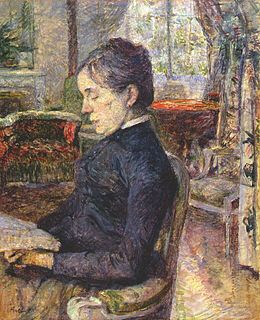 Lautrec comtesse adele de toulouse-lautrec in the salon at malromé 1887.jpg