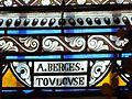 Le Bourdeix église vitrail signature.JPG