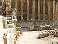 Lebanon, Baalbek, Columns, Court.jpg