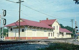 Lee Hall station former railway station in Lee Hall, Virginia