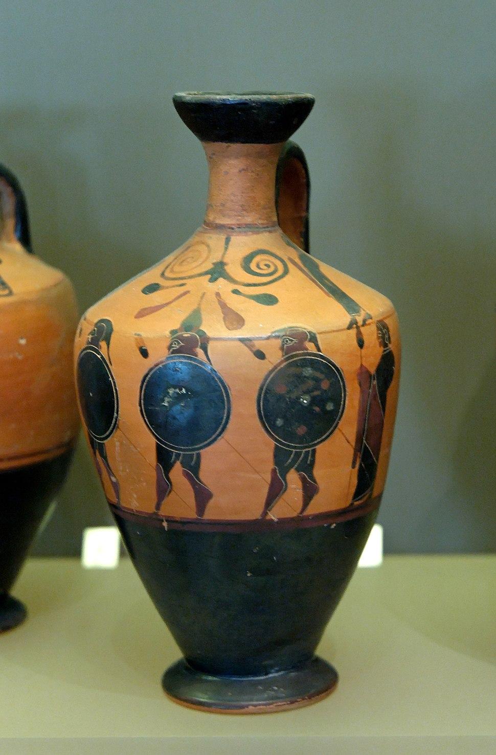 Lekythos hoplite Petit Palais ADUT01575