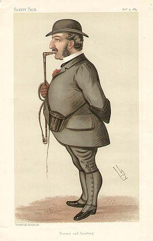 Leopold de Rothschild - Image: Leopold de Rothschild, Vanity Fair, 1884 12 13
