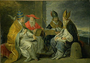 Mystical theology - Four saints, doctors of the Church